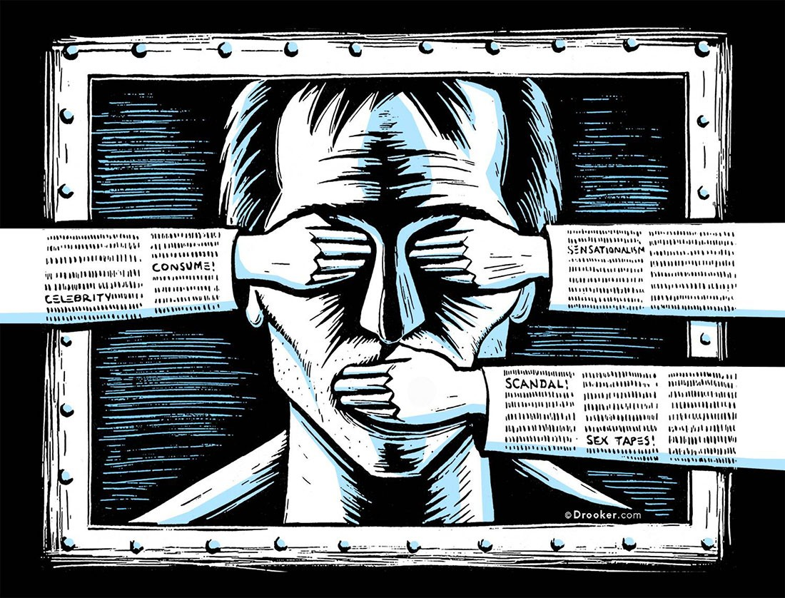 Цензура наступает на пятки трейдерам