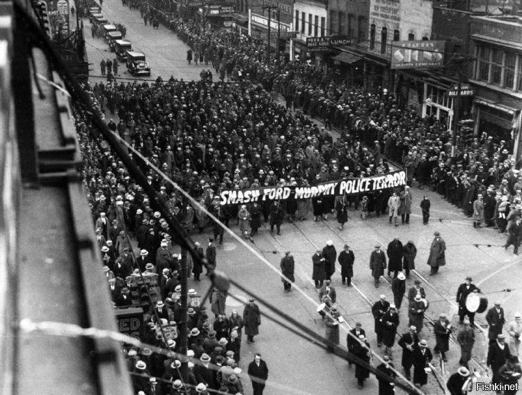 Великая депрессия 1929-1939