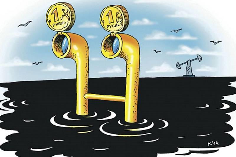 Нефть и рубль