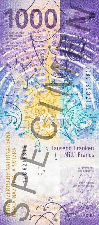 Валюты мира. Швейцарский франк